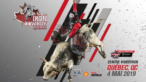 Le #2 mondial, Chase Outlaw, en vedette à l'événement Iron Cowboy de PBR au Centre Vidéotron