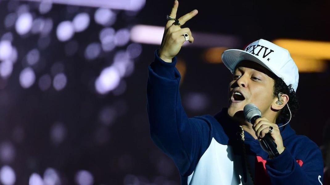 Bruno Mars au Centre Vidéotron le 24 août