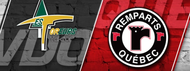 Foreurs vs Remparts