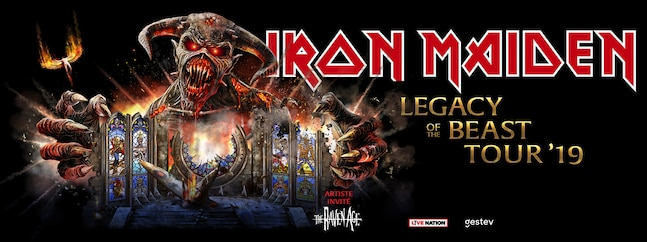 Iron Maiden Legacy Of The Beast Tour