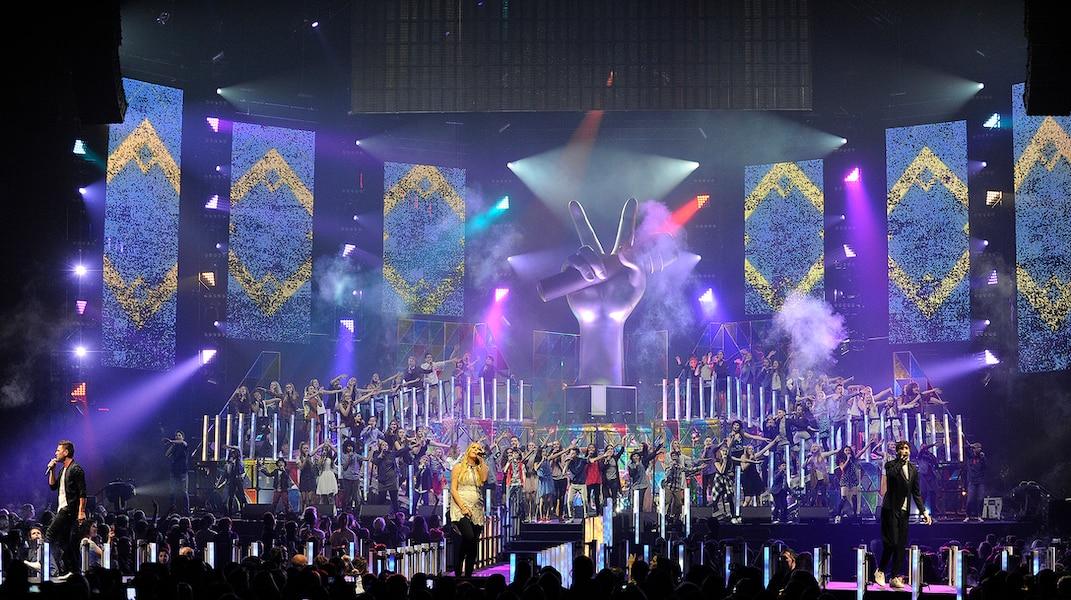 La Voix Junior en met plein la vue: les jeunes chanteurs ont impressionné au Centre Vidéotron