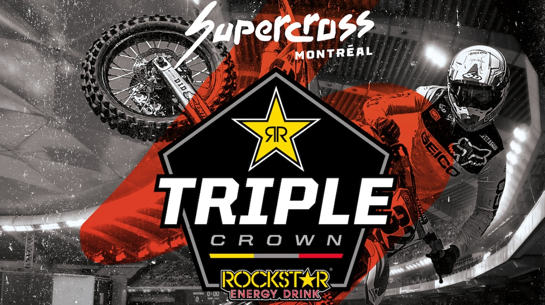 Supercross Montréal teams up with Jetwerx to announce a special edition event in the Rockstar Energy Triple Crown Series