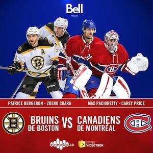 Bruins de Boston vs Canadiens de Montréal