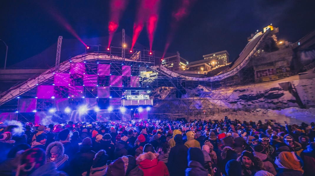 Igloofest returns to downtown Quebec City for the official Jamboree party
