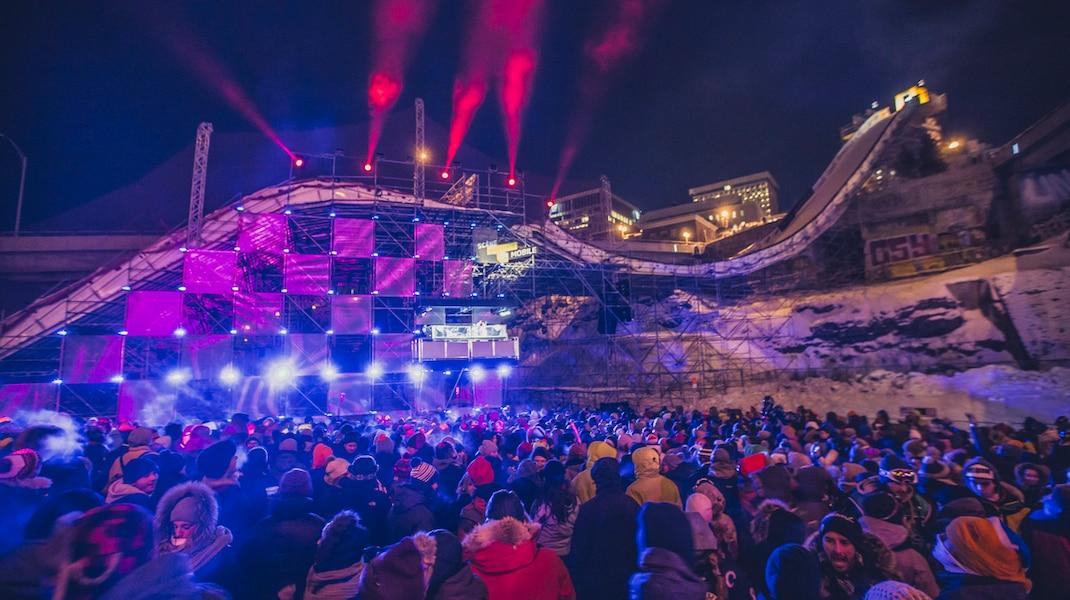 Igloofest de retour à Québec pour le party officiel du Jamboree