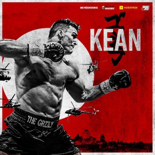 Boxing event Simon Kean vs Dillon Carman