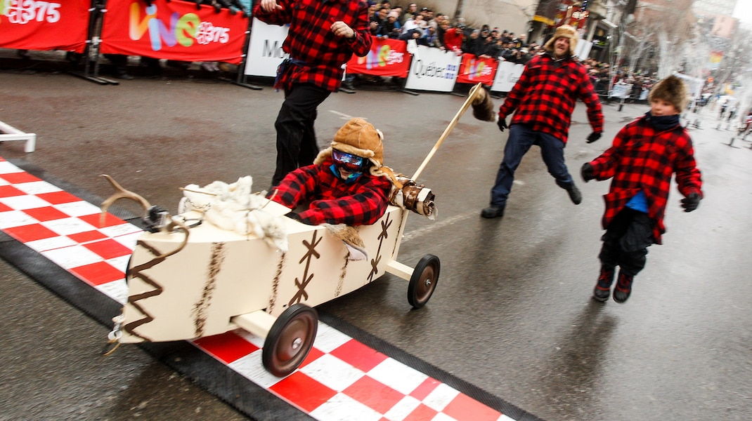 Soapboxes take Saint-Denis Street by storm