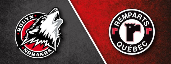 Quebec Remparts vs Rouyn-Noranda Huskies
