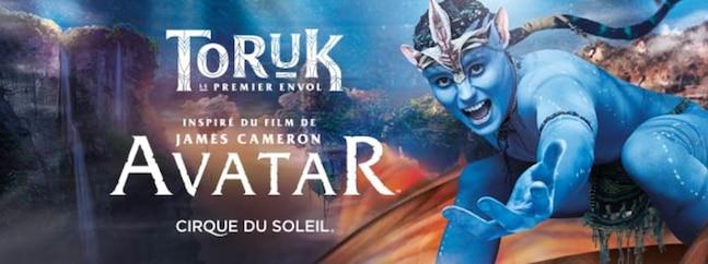 TORUK, Le premier envol - Cirque du Soleil