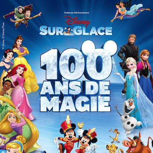 Disney sur glace célèbre 100 ans de magie