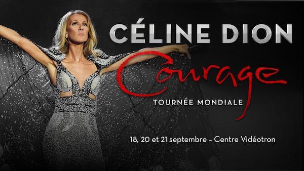 Ajout d'un 3e spectacle de Céline Dion au Centre Vidéotron le samedi 21 septembre