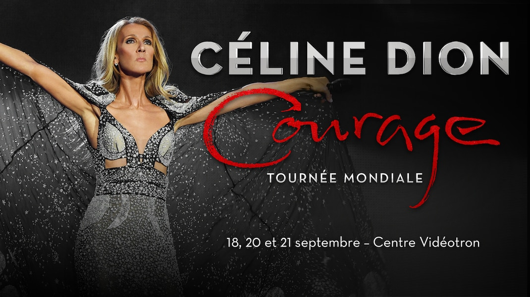"CELINE DION ADDS SHOW DATE TO ""COURAGE WORLD TOUR"""