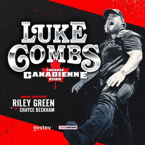 Luke Combs Canadian Tour 2022