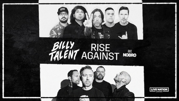 BILLY TALENT AND RISE AGAINST AT VIDEOTRON CENTER ON APRIL 1, 2022