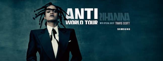 Rihanna - ANTI World Tour