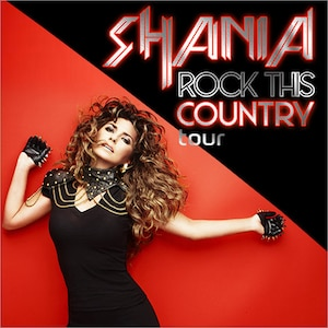Shania Twain - Rock this country tour