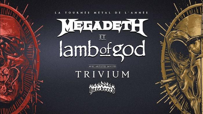 Megadeth et Lamb of God