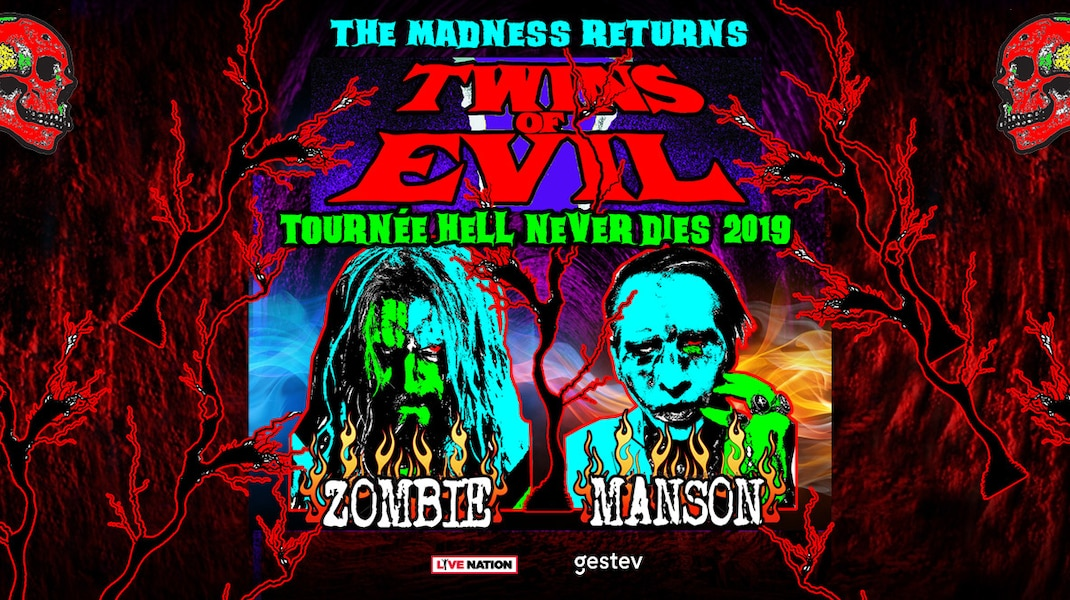 Rob Zombie and Marilyn Manson confirm their notorious Twins of Evil tour