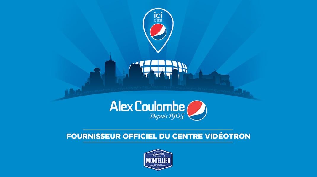 L'entreprise Alex Coulombe - Pepsi présentera le match Remparts / Tigres
