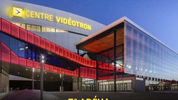 Le Centre Vidéotron 5e au pays pour la vente de billets