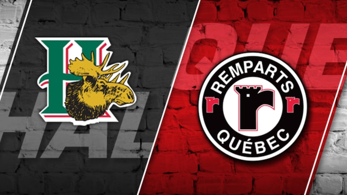 Mooseheads vs Remparts