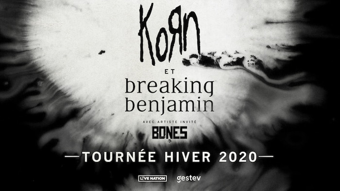 KORN et Breaking Benjamin en spectacle