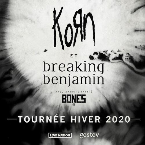 KORN et Breaking Benjamin en spectacle