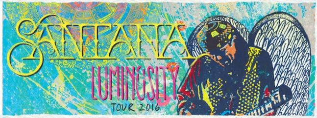 Santana - Luminosity Tour