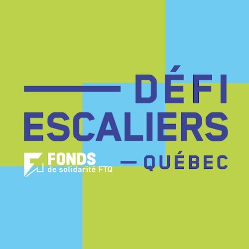 Défi Escaliers Fonds de solidarité FTQ de Québec