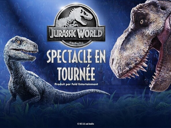 Jurassic World Comes to Life at Videotron Centre in September 2020