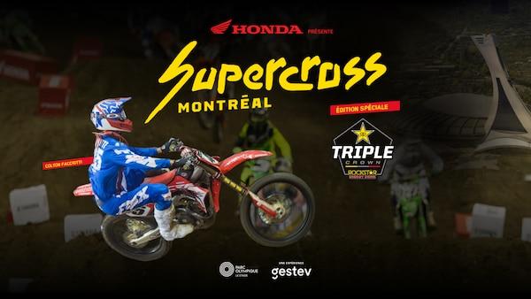 Une programmation intense et spectaculaire pour le Supercross Montréal au Stade olympique