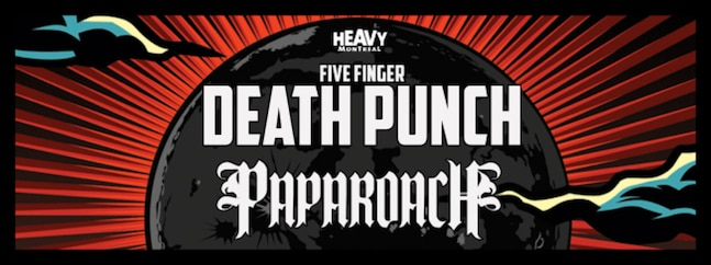 Five Finger Death Punch | Papa Roach