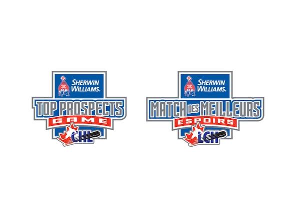 Dévoilement des alignements du Match des Meilleurs Espoirs de la LCH/LNH 2017 Sherwin-Williams