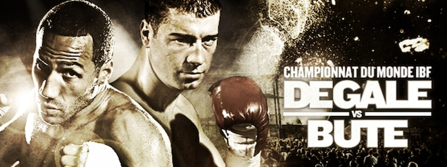IBF World Championsip | DEGALE VS BUTE