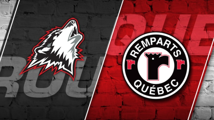 Huskies vs Remparts