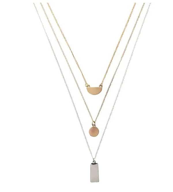 Collier à pendentif Cezanne Ti-Tone