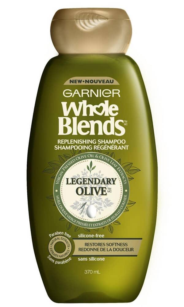 Shampooing à base d'huile d'olive Garnier
