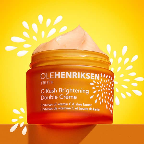 Double-Crème Illuminatrice C-Rush d'Ole Henriksen