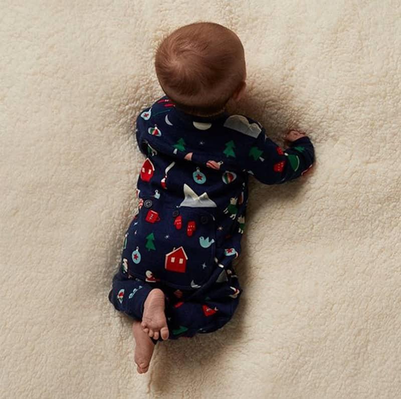 Combinaison pour bébé Hatley x Indigo