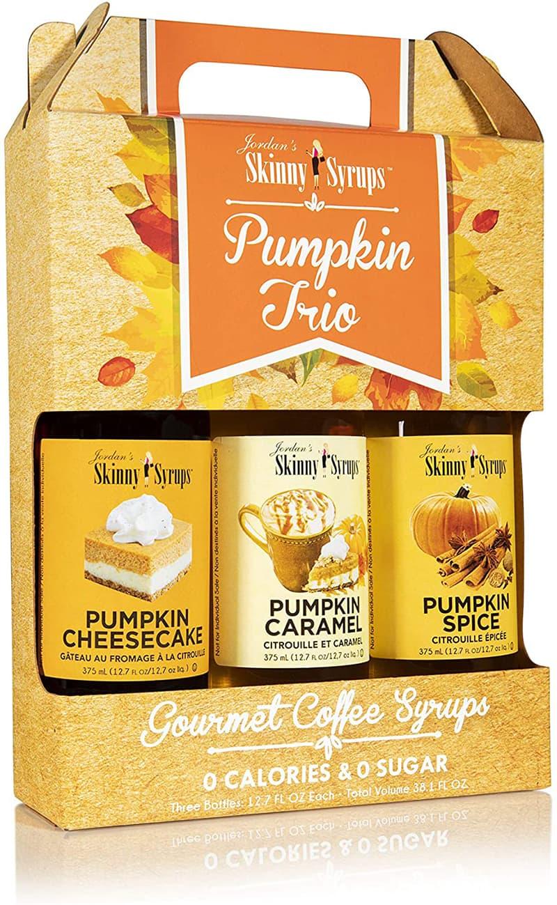 Trio de sirop d'automne pour le café