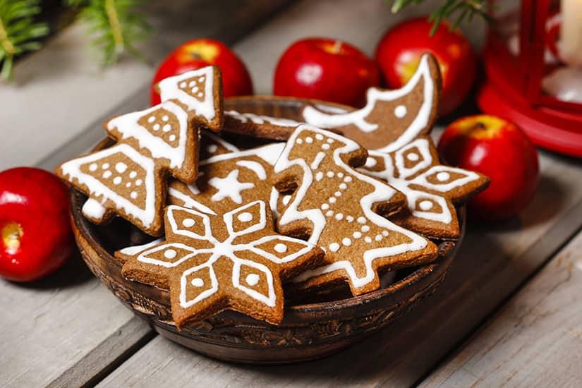 Biscuits au pain d'épices