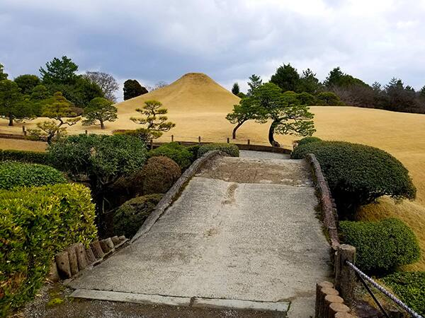 Le jardin de Suizenji Jojuen