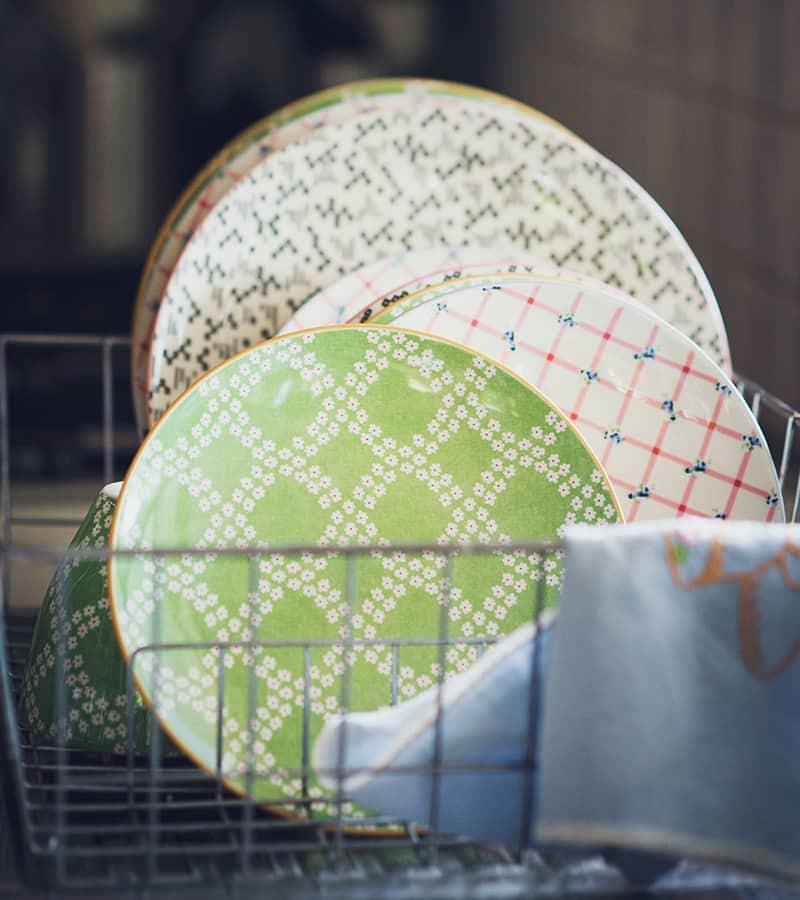 vaisselles propres