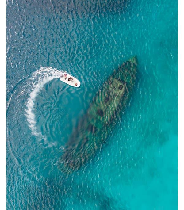 Épave - Barbade