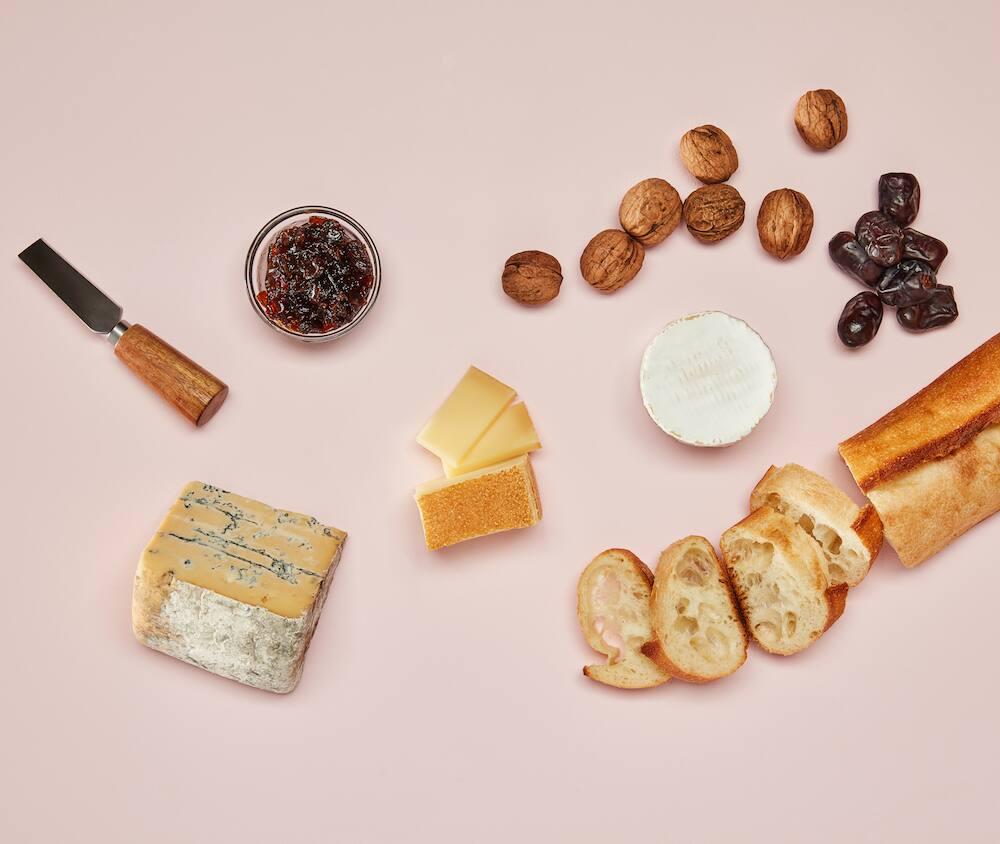 Art du plateau de fromage