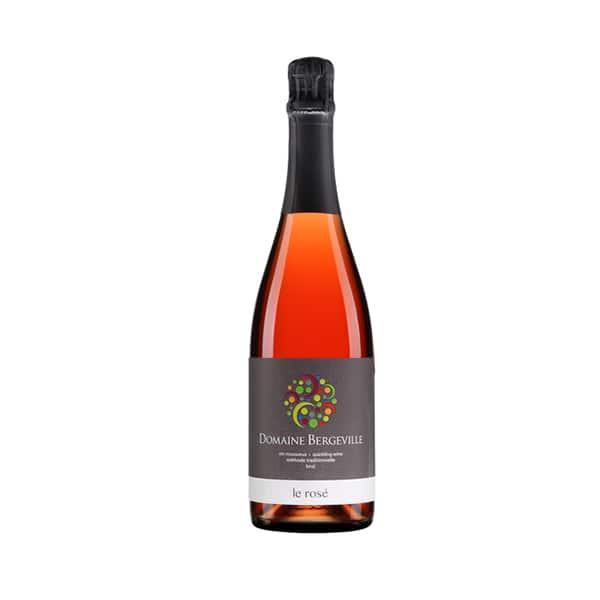 Vin mousseux rosé du Domaine Bergeville sur la SAQ en ligne