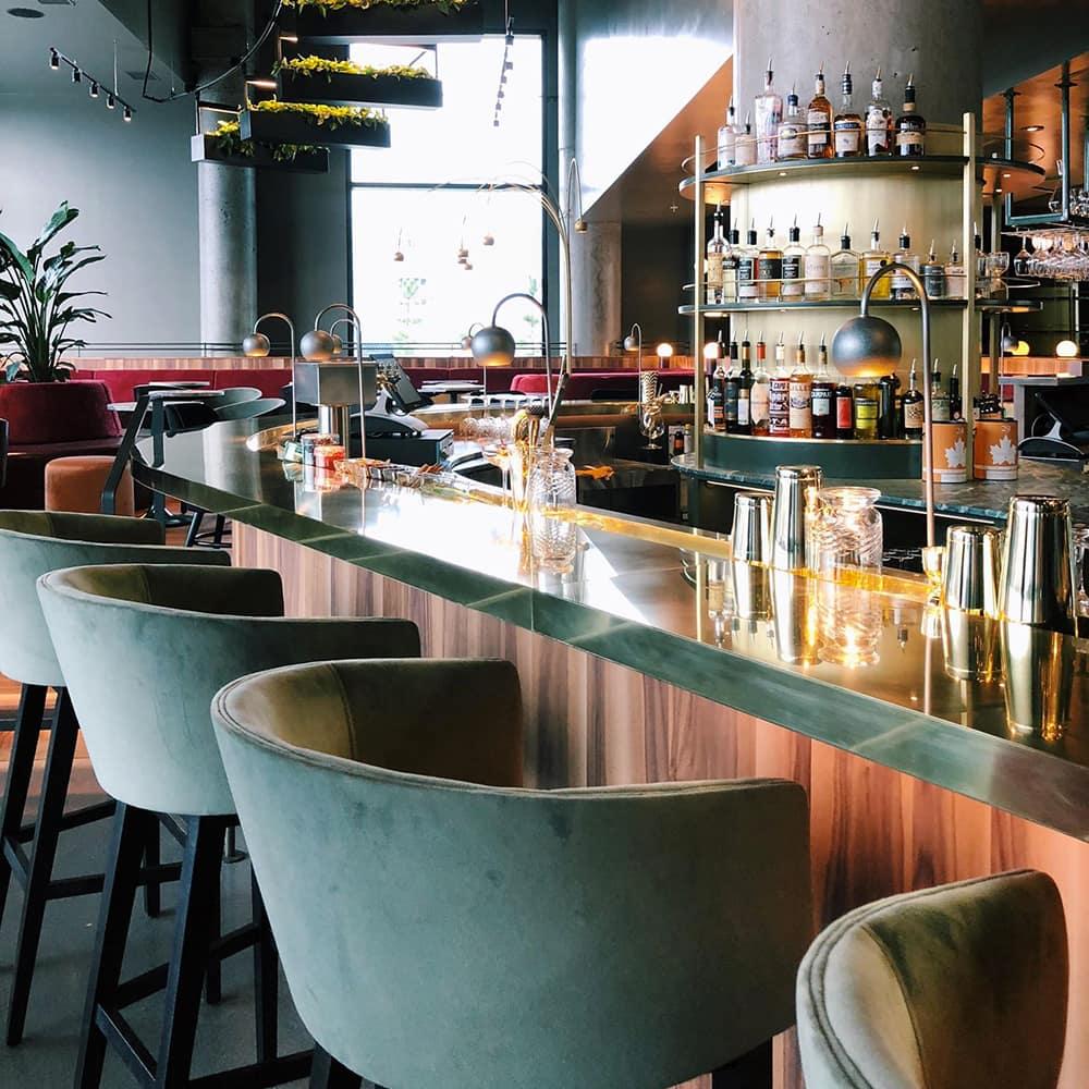 Le bar Les Cousins