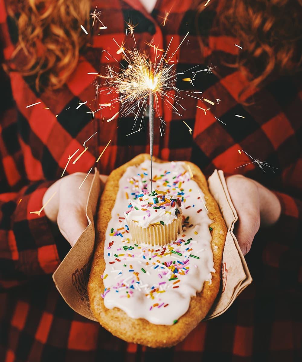 Queue de Castor - Gâteau d'anniversaire