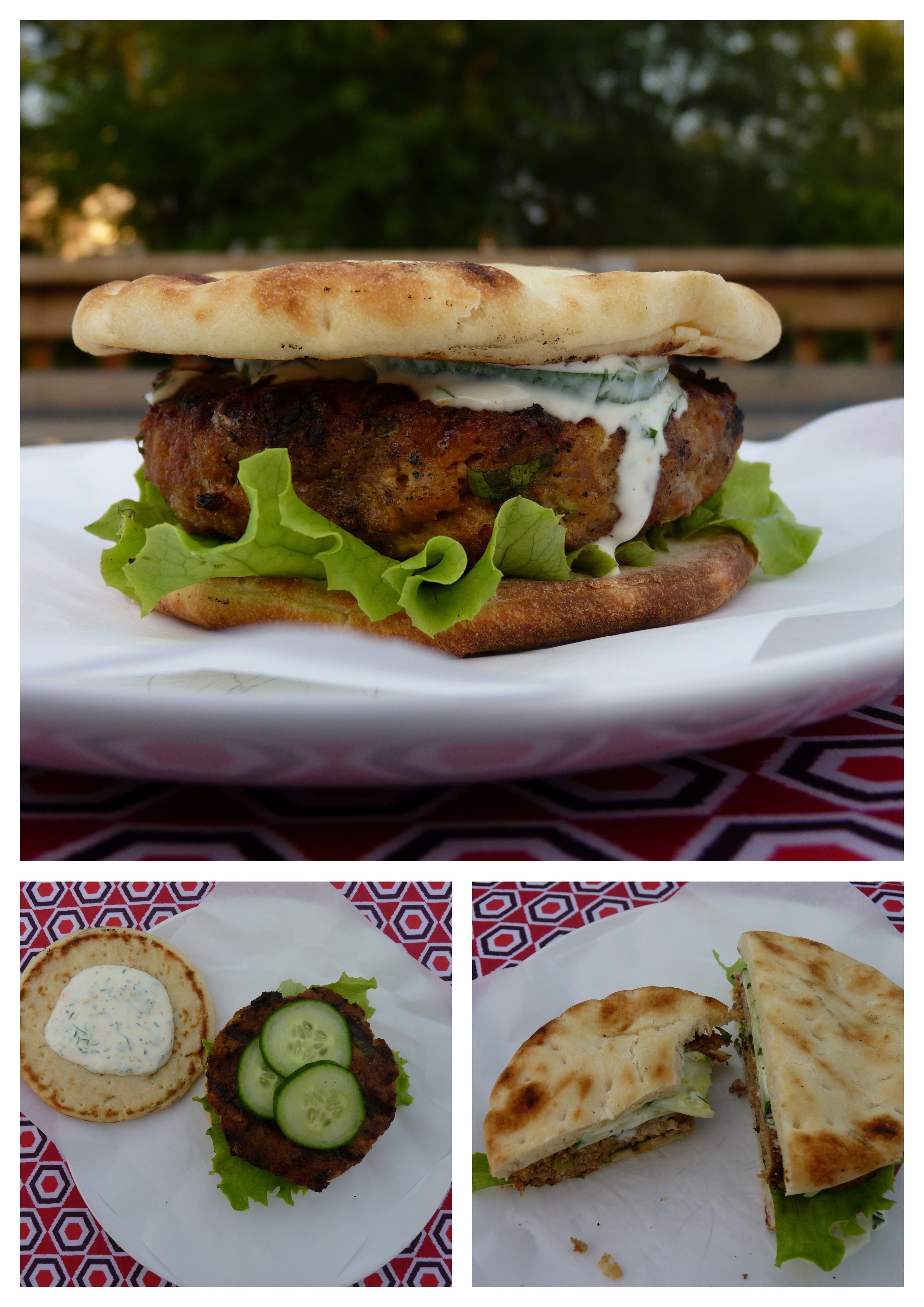 burger porc indien