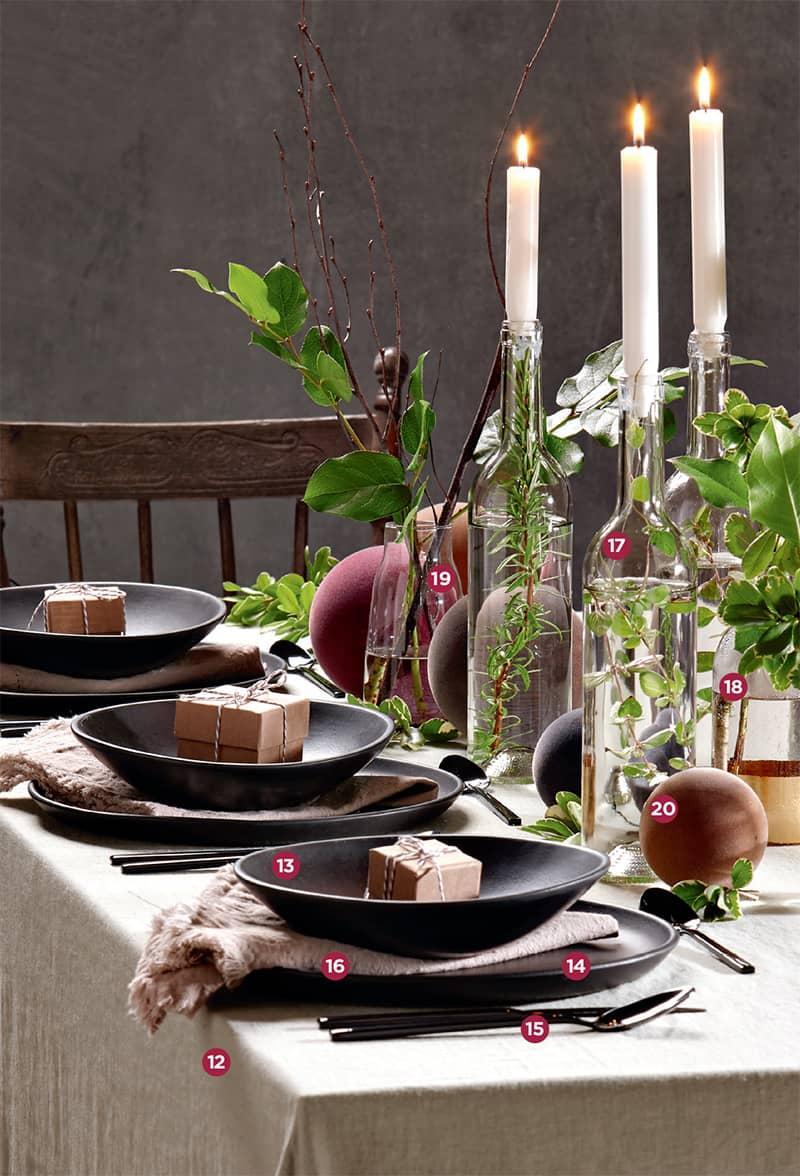 La table champêtre revisitée